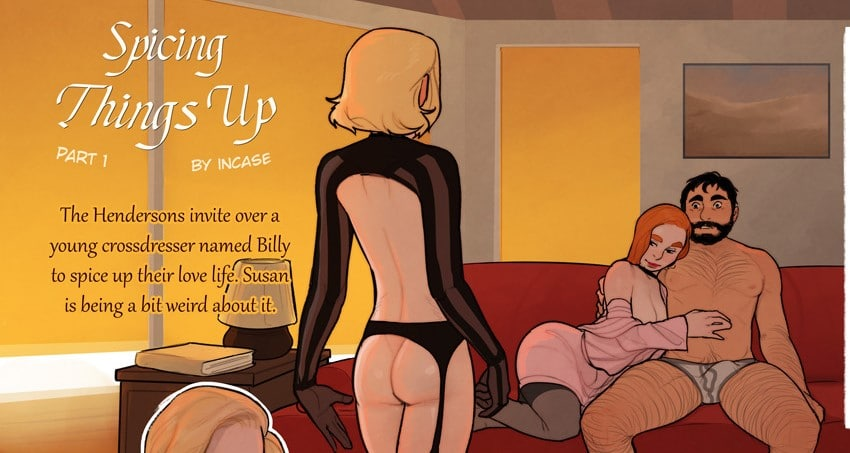 Spice Things Up With This Lewd Sex Comic from InCase