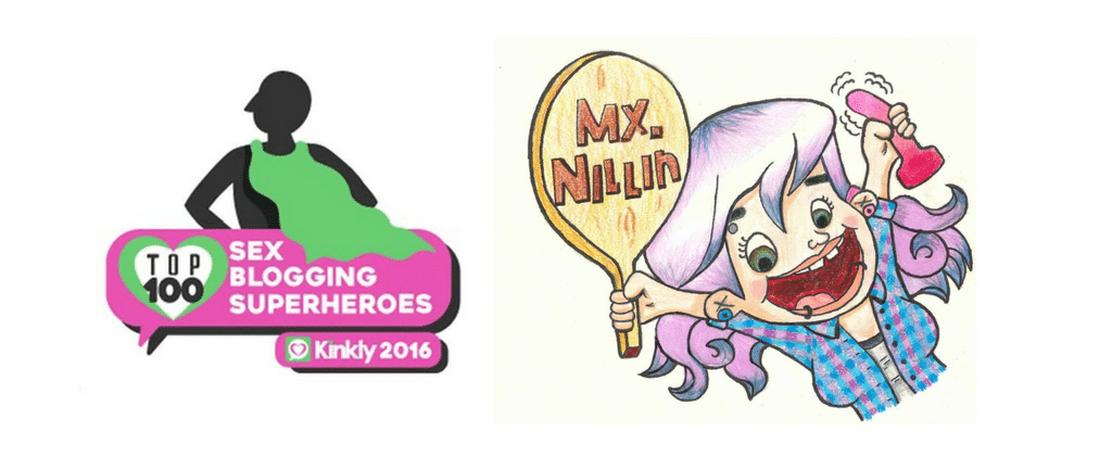 Mx Nillin Made the Top 40 in Kinkly's Top 100 Sex Blogging Superheroes of 2016