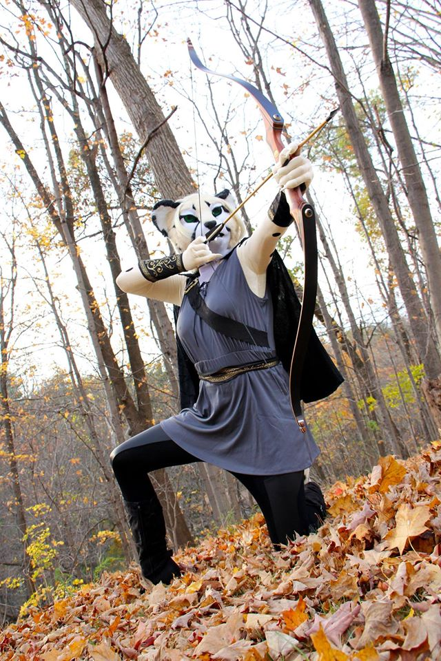 Rhea's 2016 Halloween shoot is what initially drew me to contact her about her fursuit.