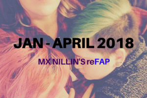 Mx Nillin's 1st Quarter ReFAP for 2018