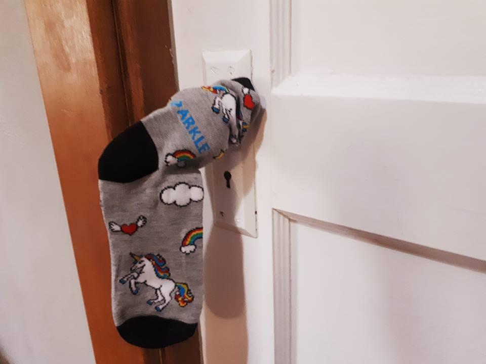 Mx Nillin Fucks… Socks!